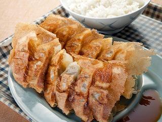 ダブル焼餃子定食