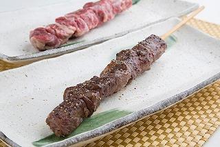 栃木県産牛のジャンボ牛串