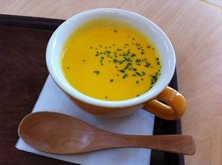 朝採れ人参と豆乳のスープ