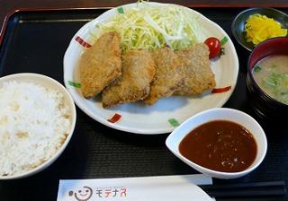 近江牛一口ロースカツ定食