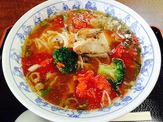 完熟トマトたん麺