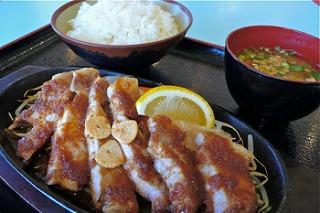ヤマトポーク トンテキ定食