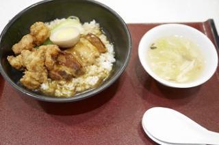ヤマトポークの角煮豚天ダブル丼