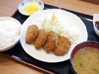 近江牛メンチカツ定食