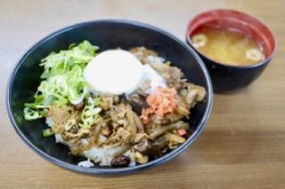 京丹波ぎゅう茸丼