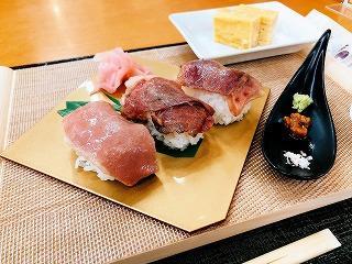 とちぎの牛肉寿司三昧