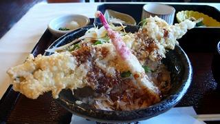 泉州穴子と万能野菜の丼