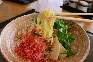 赤穂の塩菜冷麺