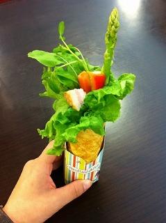 野菜畑のトルティーヤ