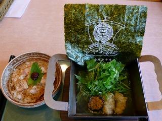 鍛冶屋ラーメン 淡路鶏丼