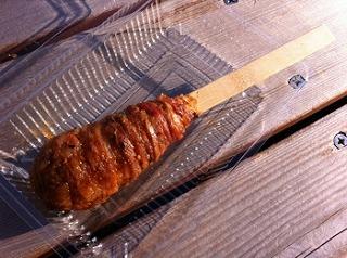 豚肉巻ご飯串