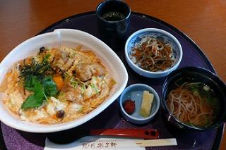 紀州梅鶏親子丼