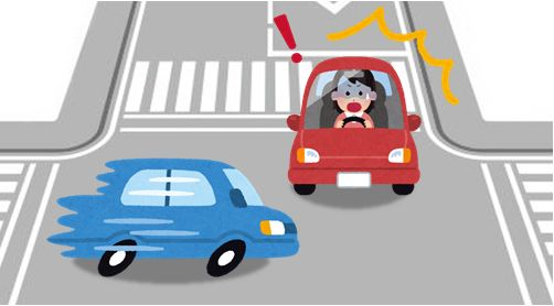 過失割合】信号機の無い交差点での出会い頭事故 自動車保険 保険なるほど知恵袋 お客様とソニー損保のコミュニケーションサイト